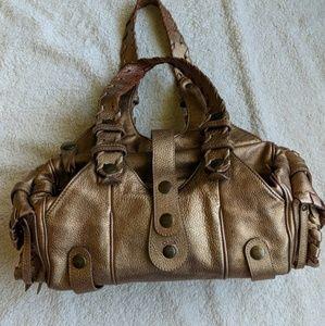 Chloe Metallic Silverado Bag
